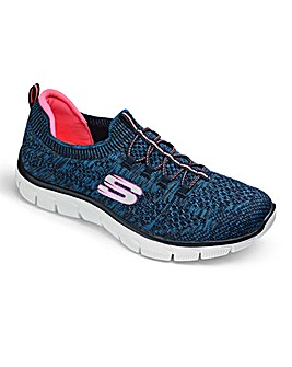 Skechers Stretch Knit Bungee Slip On