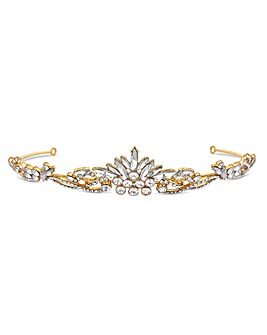 Jon Richard Crystal Navette Tiara