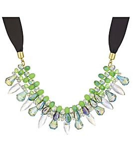 Mood Green Beaded Necklace