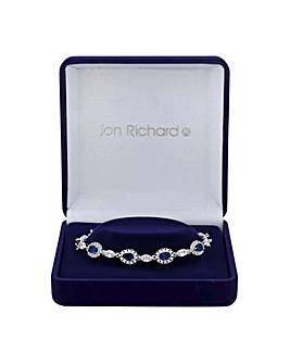 Jon Richard Peardrop And Leaf Bracelet