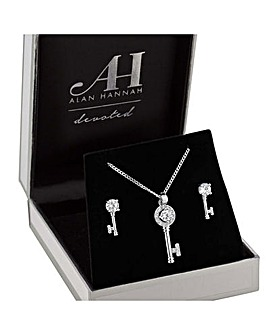Alan Hannah Key Jewellery Set