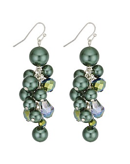 Mood Pearl Cluster Drop Earring