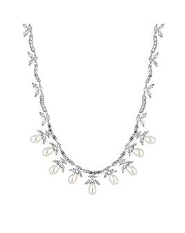 Alan Hannah Pearl Droplet Necklace