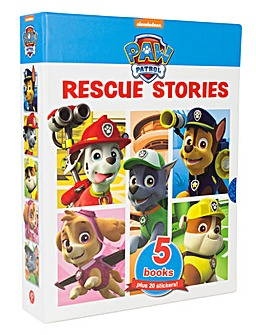 Paw Patrol Rescue Stories 5 Books