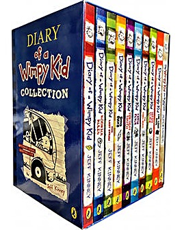 Diary Of A Wimpy Kid Collection 10 books
