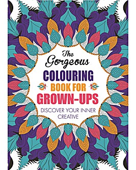 THE GORGEOUS COLOURING BOOK FOR GROWN-UP