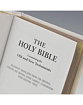 BIBLE WHITE KJV (OLD & NEW TEST)