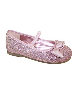 Sparkle Club Infants Pink Ballerinas