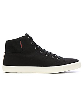 Jack & Jones Canvas Mid Top Trainers