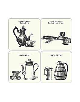 Victoriana Set of 4 Coasters