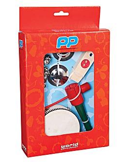 P P  Music Box Inc Glock & Harmonica