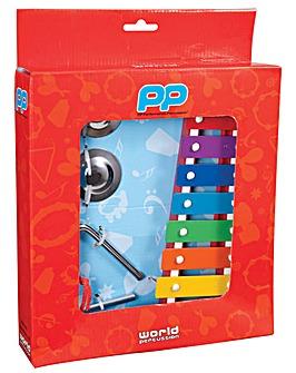 P P  Music Box Inc Tambourine