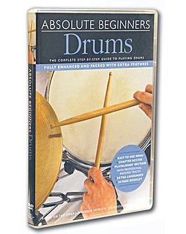 Absolute Beginners Drum Basics Dvd