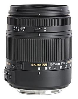 Sigma 18-250mm f/3.5-6.3 DC Macro Nikon