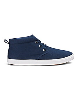 Casual Canvas Chukka Boots