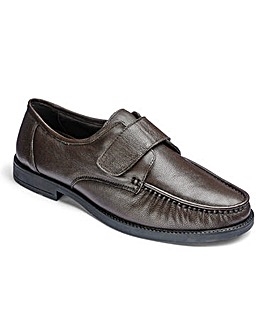 Leather Touch & Close Shoes Standard Fit