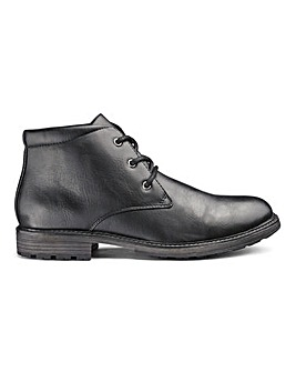Leather Look Chukka Boot