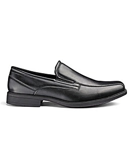 Slip On Formal Shoes Wide Fit