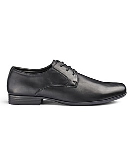 Formal Lace Up Derby Shoe Standard Fit