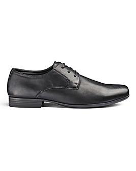 Formal Lace Up Derby Shoe Standard Fit