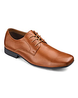 Formal Lace Up Derby Shoe Extra Wide Fit
