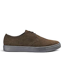 Brown Suede Casual Shoe