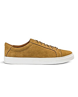 Suede Lace Up Casual Shoes