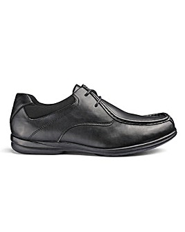 Air Motion Lace Up Shoe Wide Fit