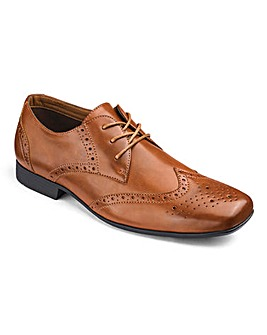 Formal Lace Up Brogue Extra Wide Fit