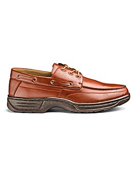 Cushion Walk Boat Shoes Lace Up