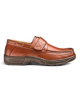 Cushion Walk Touch & Close Boat Shoes
