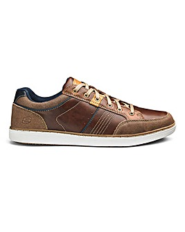 Skechers Leather Lace Up Shoes
