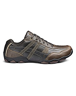 Skechers Leather Lace Up Shoe