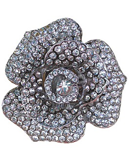 Perfect Diamante Flower Trim