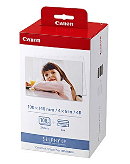 Canon KP-108IN Ink/Paper Set-CP Printers