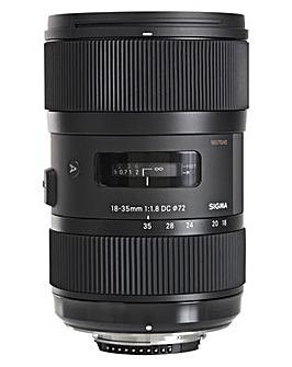 Sigma 18-35mm f/1.8 DC HSM Lens Nikon