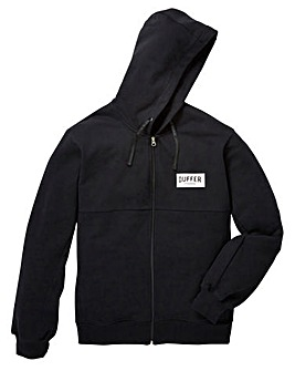 Duffer Earley Zip Thru Hoodie Long