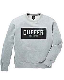 Duffer Snelson Print Crew Sweat Long