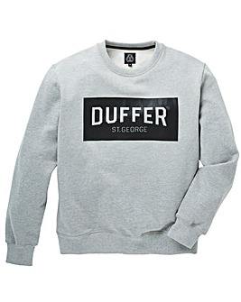 Duffer Snelson Print Crew Sweat Regular