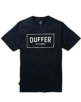 Duffer Reading Print T-Shirt Long