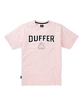 Duffer Pinner Print T-Shirt Long