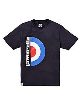 Lambretta Half Target T-Shirt Reg