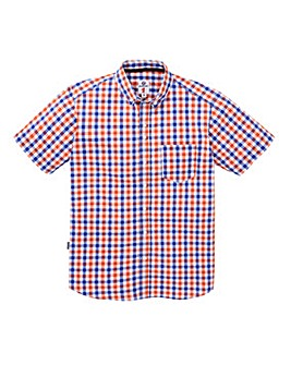 Lambretta Citrus Check Shirt Reg