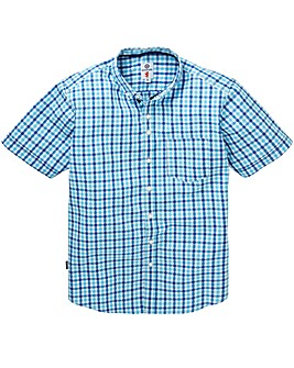 Lambretta Liquid Check Shirt Long