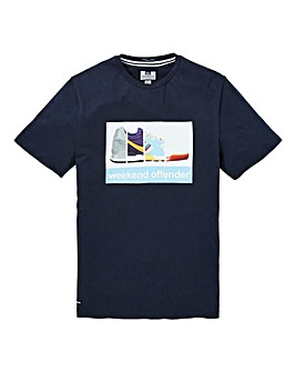 Weekend Offender Train Spotter T-Shirt R