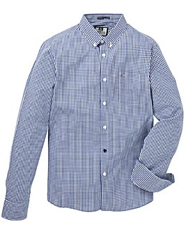 Weekend Offender Gingham Shirt Long