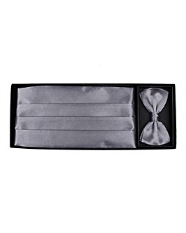 Kensington Cummerbund and Bow Tie Set