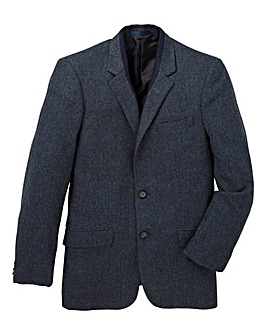 Mish Mash Herringbone Wool Mix Blazer