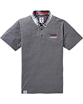 Lambretta Check Collar Polo Regular