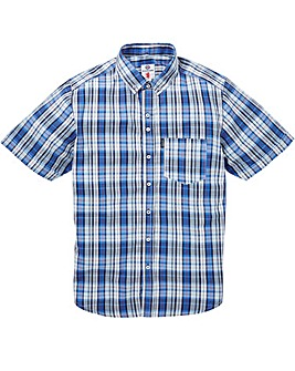 Lambretta Multi Check SS Shirt Long